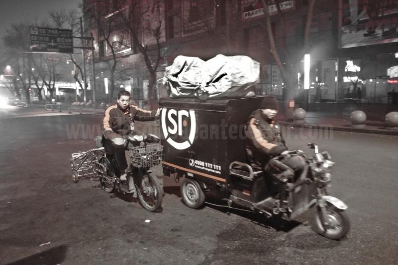 Nunca está de más compartir transporte a la hora de moverse por la ciudad de Pekín