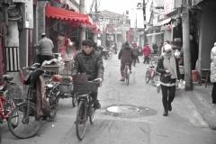 Los hutangs son los barrios populares de Pekin donde se da una intensa actividad comercial y de movimiento de ciudadanos