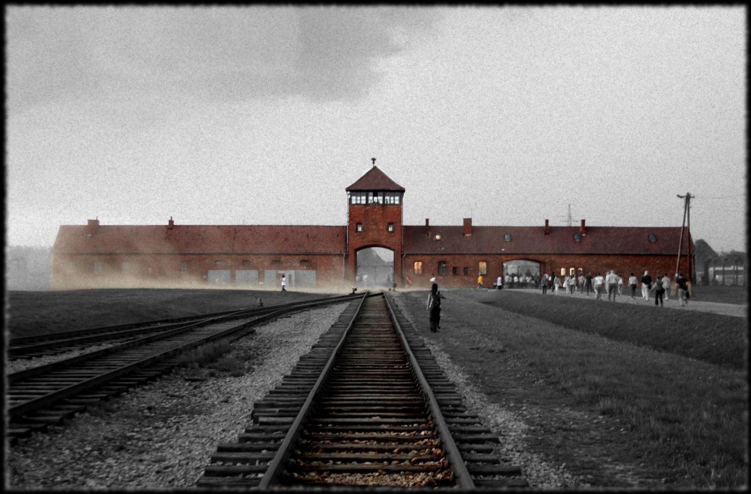 Auschwitz-Birkenau. Preserved history in their ruins